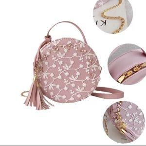 New Summer Cute Floral Lace Crossbody Bag Purse
